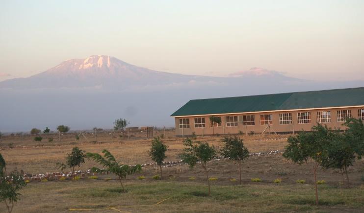 Building with Kilimanjaro